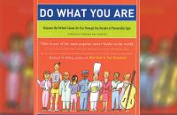 "Orange cover of the book ""Do What You Are"""