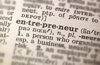 "Dictionary page showing the word ""entrepreneur"""
