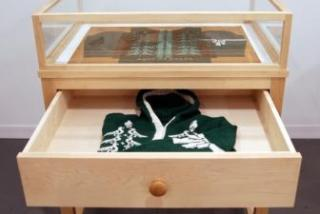 Open drawer with items