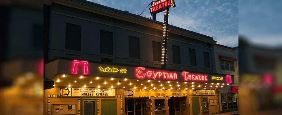 Egyptian Theatre in Coos Bay