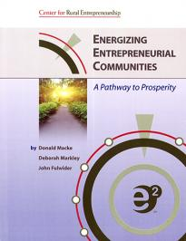 Book cover of Energizing Entrepreneurial Communities
