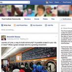 A screen capture of the Ford Institute Community Facebook page.