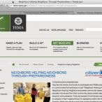 Screen capture of the ready.gov website